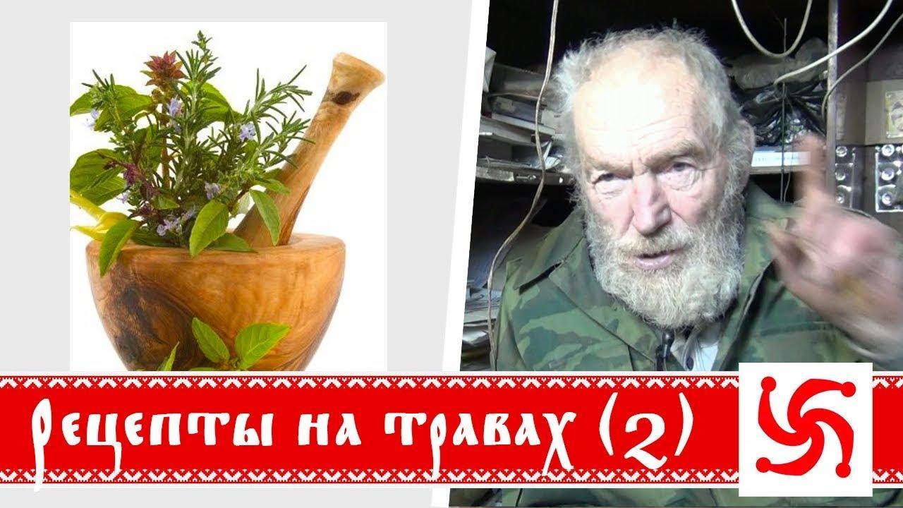 Народные рецепты на травах. Часть 2. Алтайский Старец (Борис Володарский)