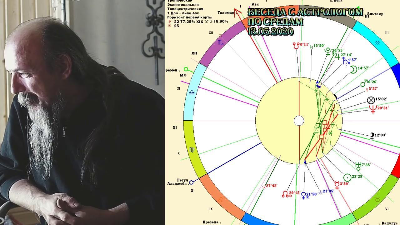 Беседы с астрологом по средам. Олег Боровик (13.05.20)