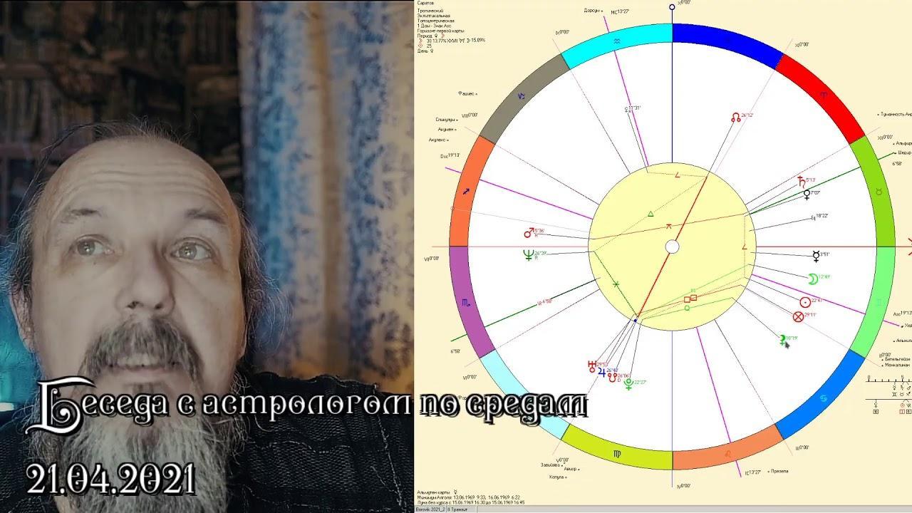 Беседы с астрологом по средам. Олег Боровик (21.04.2021)