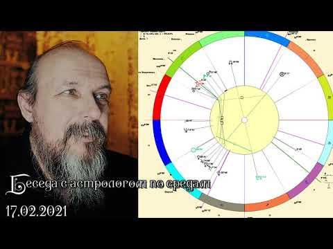 Беседы с астрологом по средам. Олег Боровик (17.02.21)