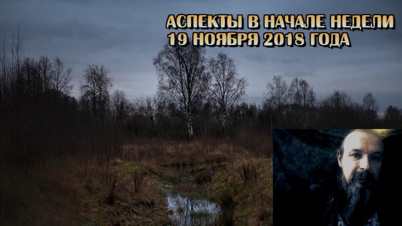 Астрологическое аспекты в начале недели. Олег Боровик (19.11.2018)