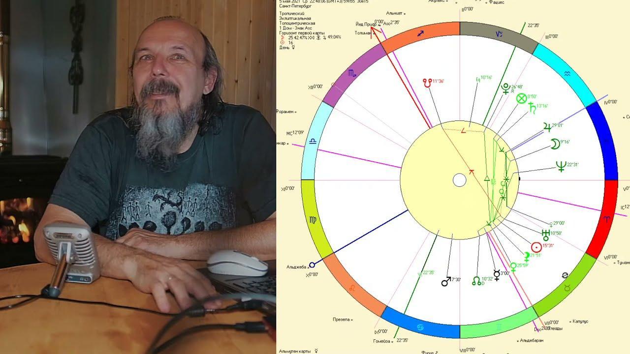 Беседы с астрологом по средам. Олег Боровик (05.05.21)