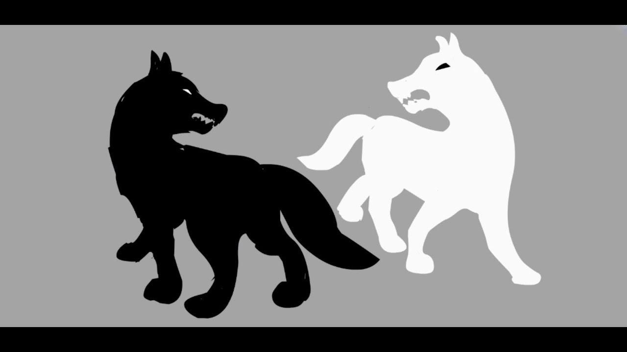 """Аниматик притча """"Два волка"""" (всегда побеждает тот волк, которого кормишь)"""
