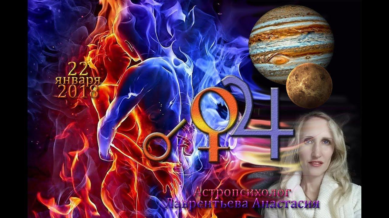 Соединение Венера-Юпитер в Полное Лунное Затмение 21-22 января 2019. Анастасия Лаврентьева