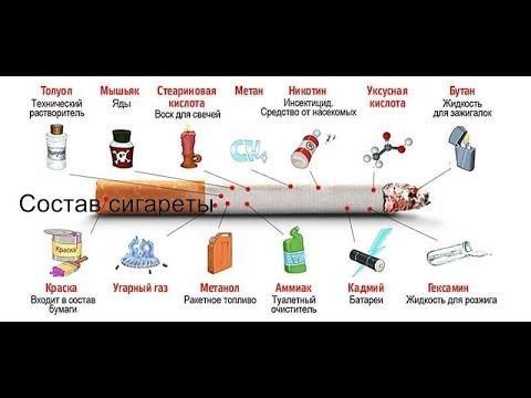 Состав сигарет. Из чего делают современные сигареты